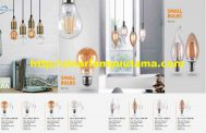 Lampu LED Pijar Filament dan Lampu Candle LED Filamen