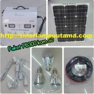Lampu Solar Cell Home System PB300