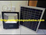 Lampu Sorot Tenaga Surya 30W + Solar Cell
