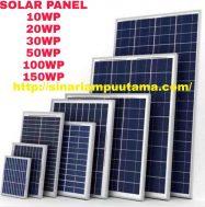 Solar Cell Panel Surya