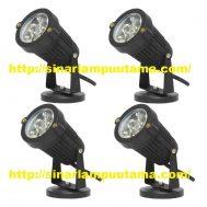Lampu Sorot LED Taman 5 watt