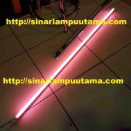 Lampu TL T5 28 watt Merah