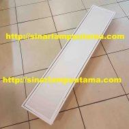 Kap Lampu TL TKI 2×36 watt Cover Acrylic Susu