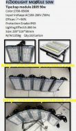 Lampu Sorot LED Floodlight Module 50 watt
