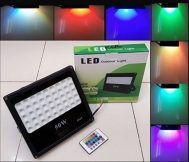 Lampu Sorot LED RGB 3535 50W with Remote