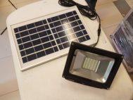 Lampu Sorot LED 20 watt Solar Panel Tenaga Surya