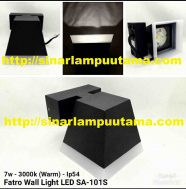 Lampu Dinding Fatro 7W 3000K Wall Light