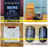 Lampu Kapal, Saklar Dimmer, Fitting Sensor dan Rechargeable Battery Meiwa