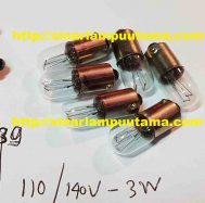 Lampu Bayonet 110-140V 3W BA9S