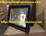 Lampu Sorot LED 150 watt Body Hitam