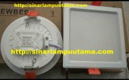 Lampu Downlight LED 9w dan 15w Newbee