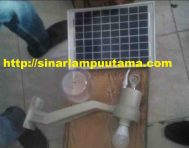 Lampu Jalan PJU Solar Cell 9 watt Tenaga Surya