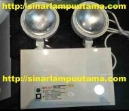 Lampu LED Emergency 2 x 3W Nerolight Smart Emergency Twin Lamp