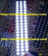 Lampu LED Module 3 mata Bulat