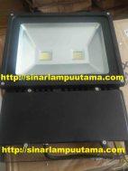 Lampu Sorot LED 100 watt Hitam