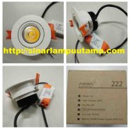 Lampu Downlight LED 7 watt Assa 222