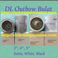 Downlight Outbow Bulat E27 Ukuran 3inch 4inch dan 5inch