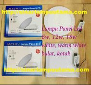 Downlight LED 6W 12W dan 18W Bulat dan Kotak Meiwa