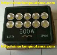 Lampu Sorot LED 500 watt Hitato