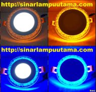 Lampu Double Colour LED Panel Light
