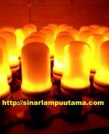 Lampu Hias LED Api