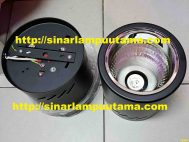 Downlight Outbow 5 inch Bulat Fitting E27