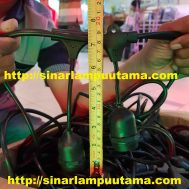 Fitting Lampu Gantung Outdoor Waterproof Hanging