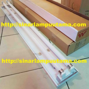 Kap Lampu GMS 2×16 watt TL LED Philips