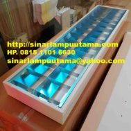 Lampu RM 2×36 watt Outbow