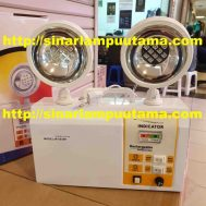 Lampu Emergency LED Twin Lamp Mata Kucing