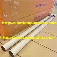 Kap TL Bambu 1×36 watt Putih