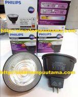 Lampu Philips LED MR16 7W 24D 3000K