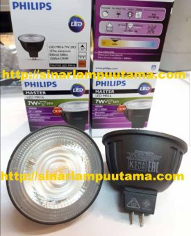 Lampu Philips LED MR16 7W 24D 3000K