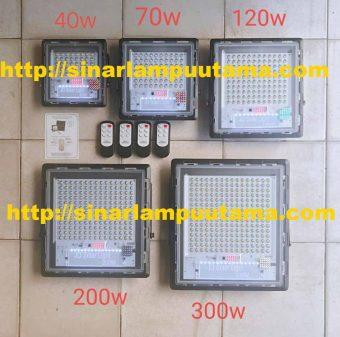 Lampu Sorot dan Jalan Solar Cell 2in1